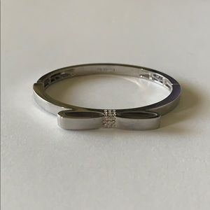 Lia Sophia Ladylike cut crystal stretch bracelet